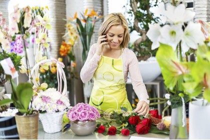 The floristry a craft for enthusiasts!