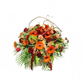 Autumn's Charm Wreath