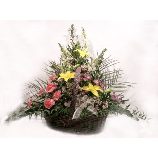 Plenty of Flowers Basket