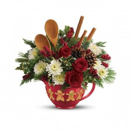 Teleflora's Mixing Bowl Bouquet