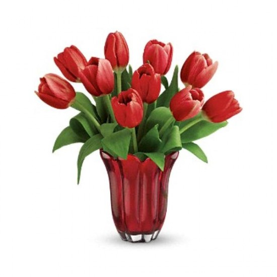 Kissed By Tulips Bouquet