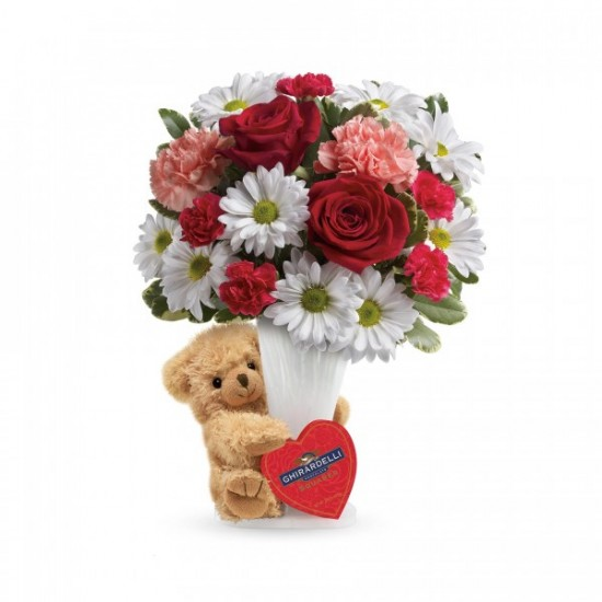 Hug Bear Your Heart Bouquet
