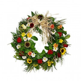 The rustic wreath